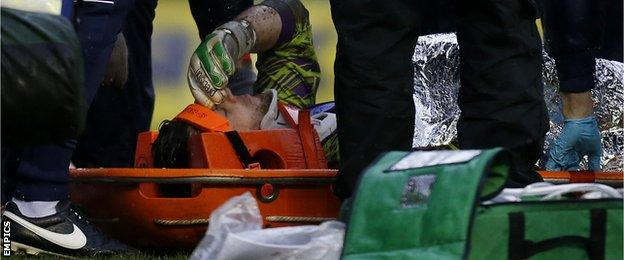 Keiren Westwood injured