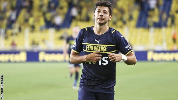 Fenerbahce's Muhammed Gumuskaya