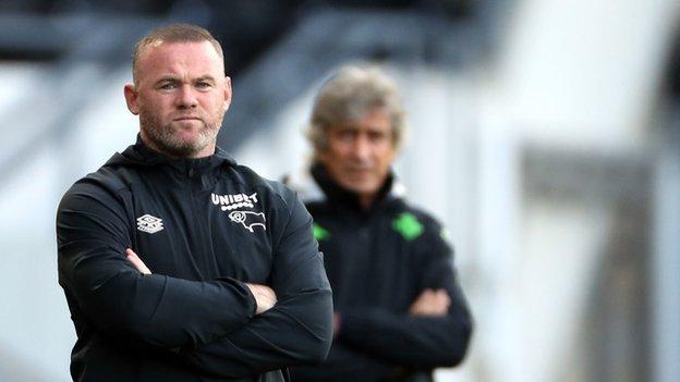 Derby boss Wayne Rooney