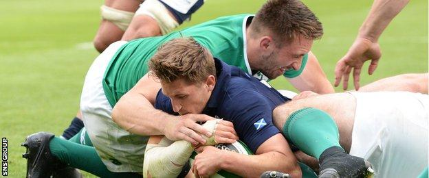 Henry Pyrgos marked his first match as captain with a try
