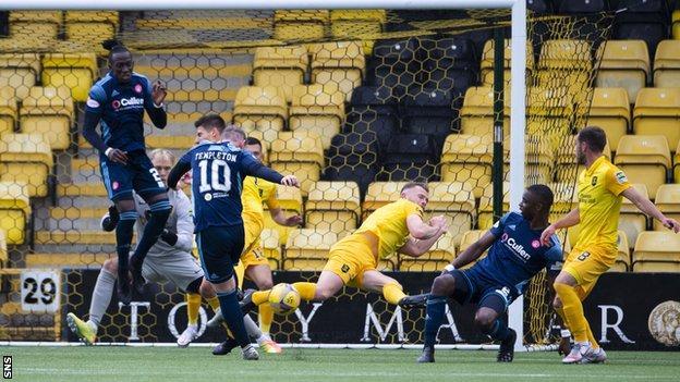 Livingston lost 2-1 to Hamilton on Saturday despite taking the lead