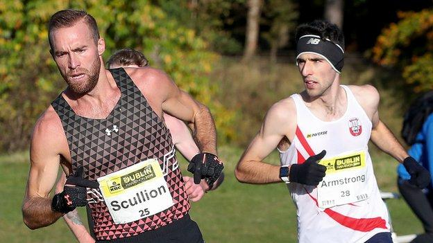 Scullion clocked 2:12.01 at last year's Dublin Marathon as he finished more than two minutes ahead of Mayo man Hugh Armstrong