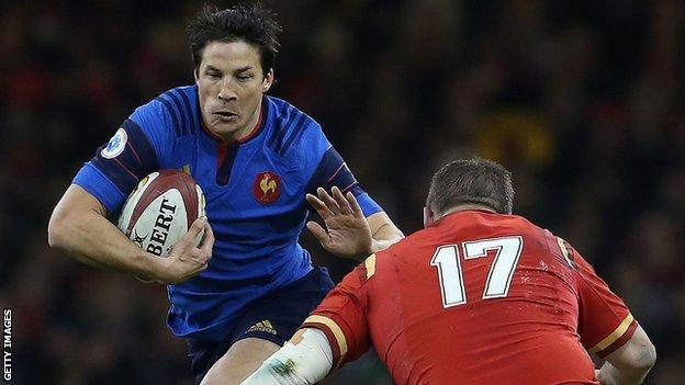 Francois Trinh-Duc starts for France