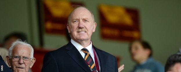 Motherwell owner Les Hutchison echoed Budge's criticism of the SPFL