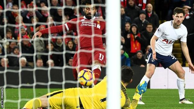 Salah has now scored 21 goals in 25 Premier League games for Liverpool this season