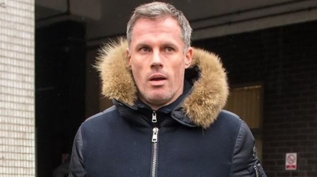 Jamie Carragher: Police speak to driver who filmed spitting incident