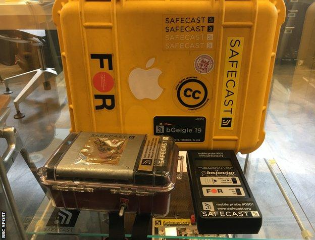 Safecast equipment