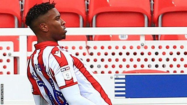 Tyrese Campbell is the son of former Arsenal, Forest and Everton striker Kevin Campbell