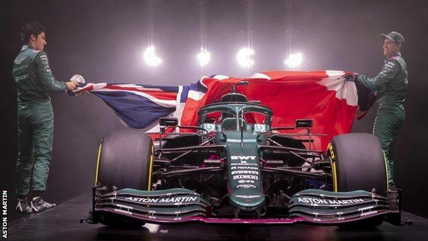 Aston Martin's new F1 car