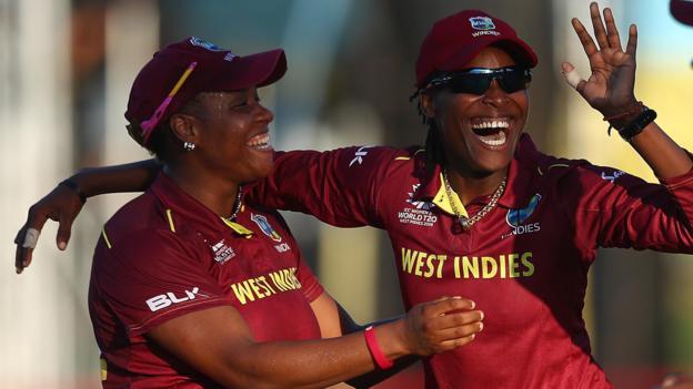 Women's World Twenty20: West Indies beat England by four wickets
