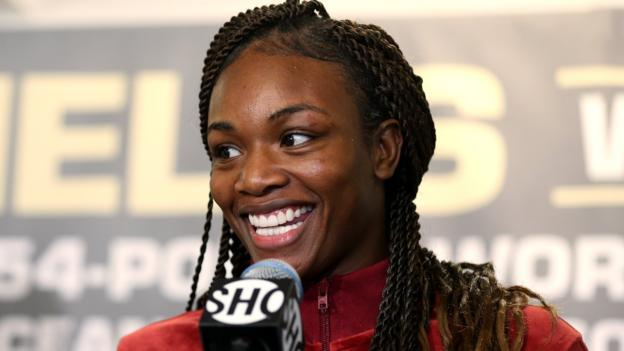 Claressa Shields says Laila Ali should come out of retirement to fight her thumbnail