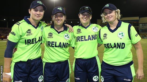 Clare Shillington, Isobel and Cecelia Joyce, and Ciara Metcalfe