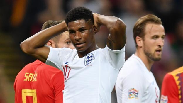England 1-2 Spain: Hosts lose Nations League opener at Wembley thumbnail