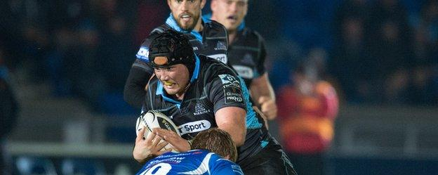 Fagerson believes Glasgow Warriors have nothing to fear against Racing 92