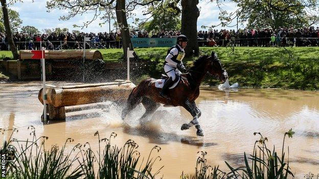 Cross-country competition from the 2019 Badminton Horse Trials