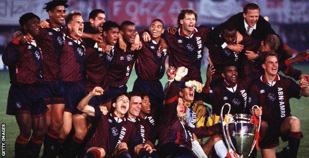 Ajax's Champions League-winning side of 1995