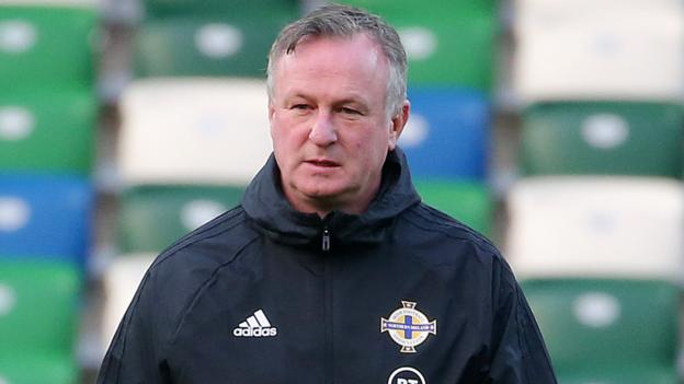 Euro 2020 qualifiers: Leaving NI before end of campaign 'never an option' - Michael O'Neill