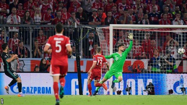 Bayern Munich 1 2 Real Madrid Bbc Sport