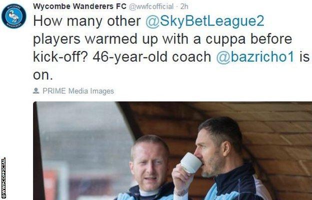 Wycombe tweet