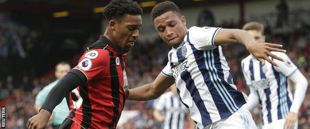 Jordon Ibe and Brendan Galloway