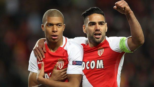 Monaco win the Ligue 1 title