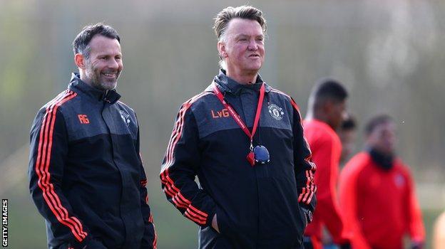 Van Gaal and Giggs