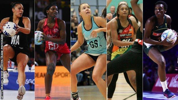 Liana Leota, Jodie Gibson, Sigi Burger, Lauren Ngwira and Khanyisa Chawane