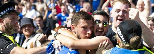 Barisic's first Rangers goal in August was 'the making of him,' according to manager Steven Gerrard
