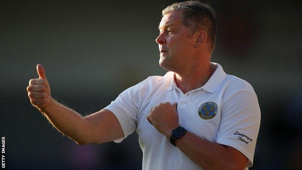 Steve Cotterill has now returned to the dugout and took charge of Shrewsbury's pre-season friendly at AFC Telford last week