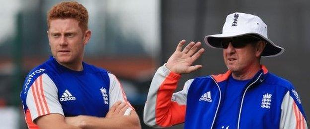 Trevor Bayliss, right, has a good limited-overs pedigree