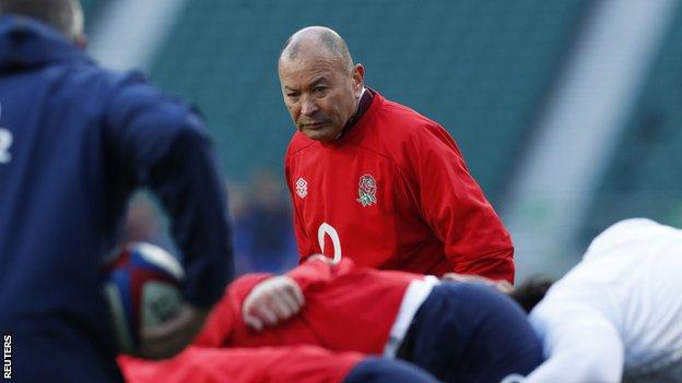 Eddie Jones: England head coach wants 'better rugby' during Six Nations thumbnail