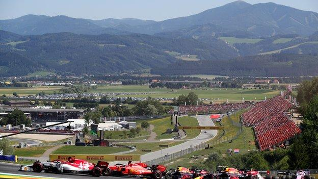 The Red Bull Ring in Austria