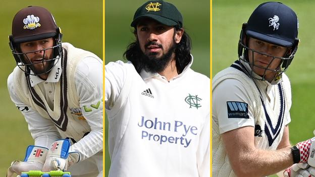 A split image of England players Ben Foakes (left), Haseeb Hameed (centre) and Sam Billings (right) Ben Foakes (left) averages 31.53 in eight Tests, Haseeb Hameed (centre) has two fifties in three Tests and Sam Billings (right) is uncapped at Test level