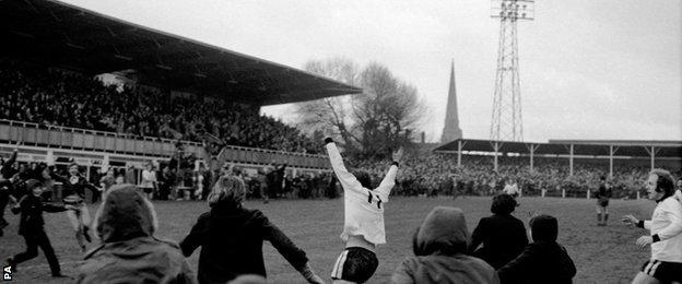 It is now 44 years since Hereford fans enjoyed their finest hour - Ronnie Radford and Ricky George's heroics against Newcastle United