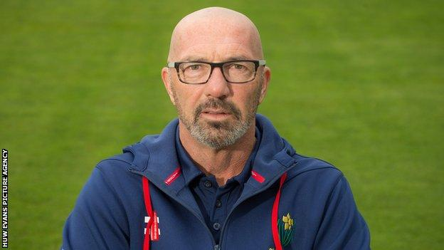 Matthew Maynard played four Tests and 15 one-day internationals for England