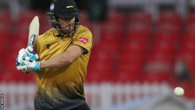 Leicestershire's Colin Ackermann