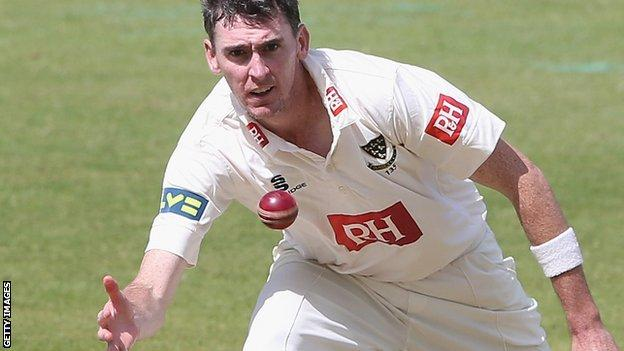 Sussex seam bowler Steve Magoffin