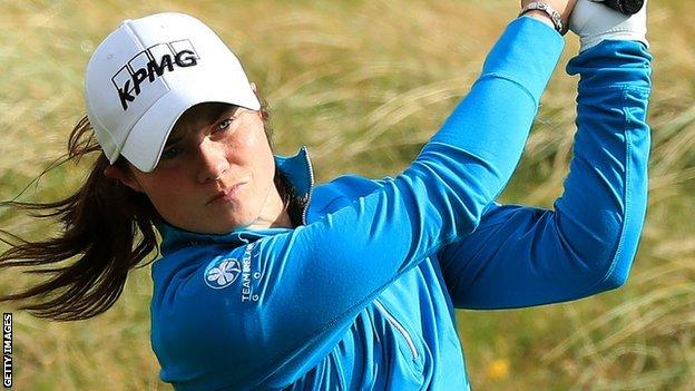 Leona Maguire's two closing birdies guaranteed her top-10 finish