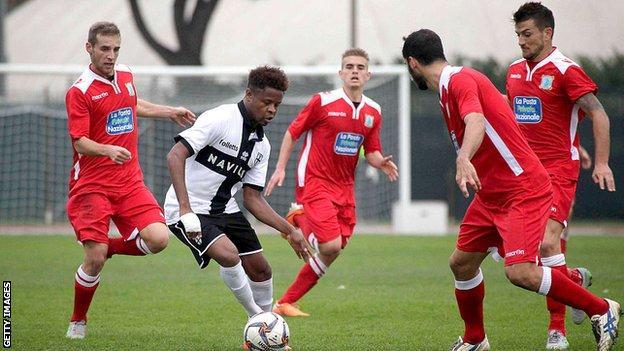 San Marino Calcio in action