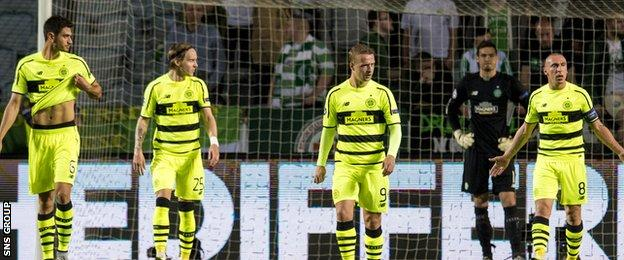 Celtic missed out on the Champions League group stage after a play-off loss to Malmo