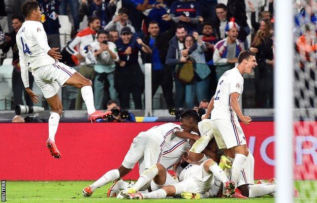 France celebrate