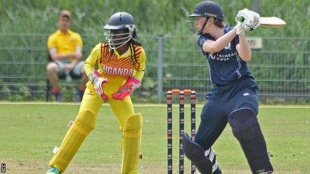 Scotland wrapped up their victory in under seven overs