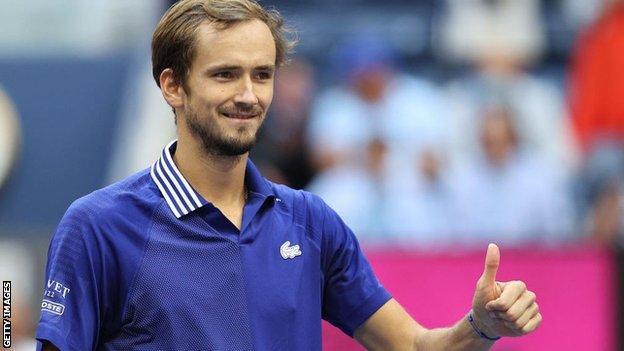 Daniil Medvedev will play in his third Grand Slam final