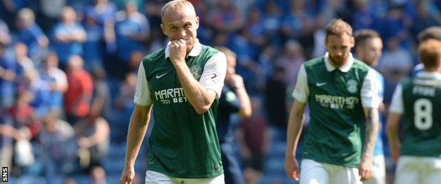 Dylan McGeouch at Ibrox