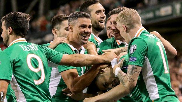 Republic of Ireland will hope to enjoy goal celebrations against Mexico in the June friendly