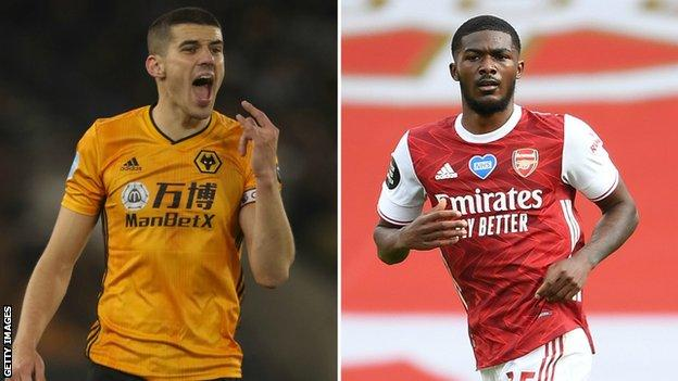 England: Conor Coady & Ainsley Maitland-Niles called up by Gareth Southgate thumbnail