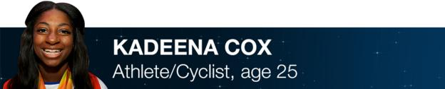 Kadeena Cox - Athlete/cyclist, age 25