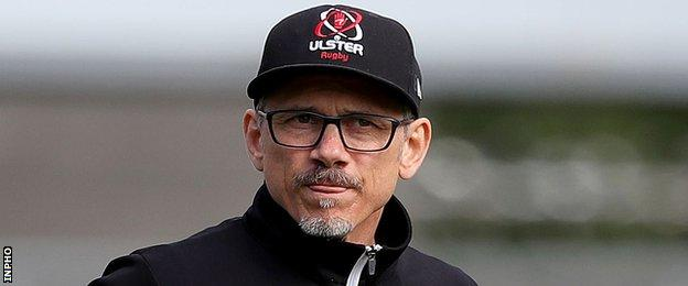 Ulster's director of rugby Les Kiss