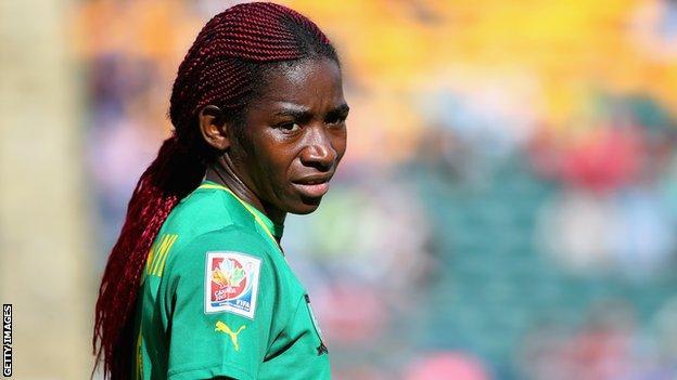 Cameroon's Madeleine Ngono Mani