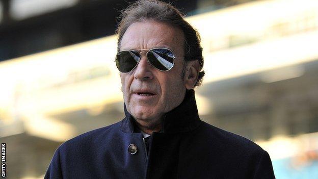 Leeds chairman Massimo Cellino